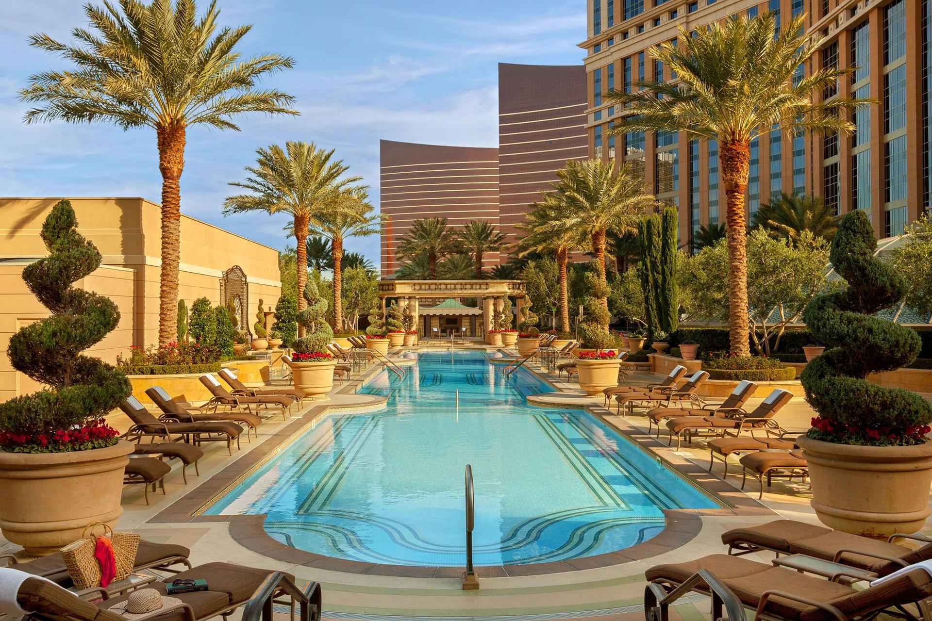 Outdoor Pool at The Palazzo Resort Hotel Casino in Las Vegas