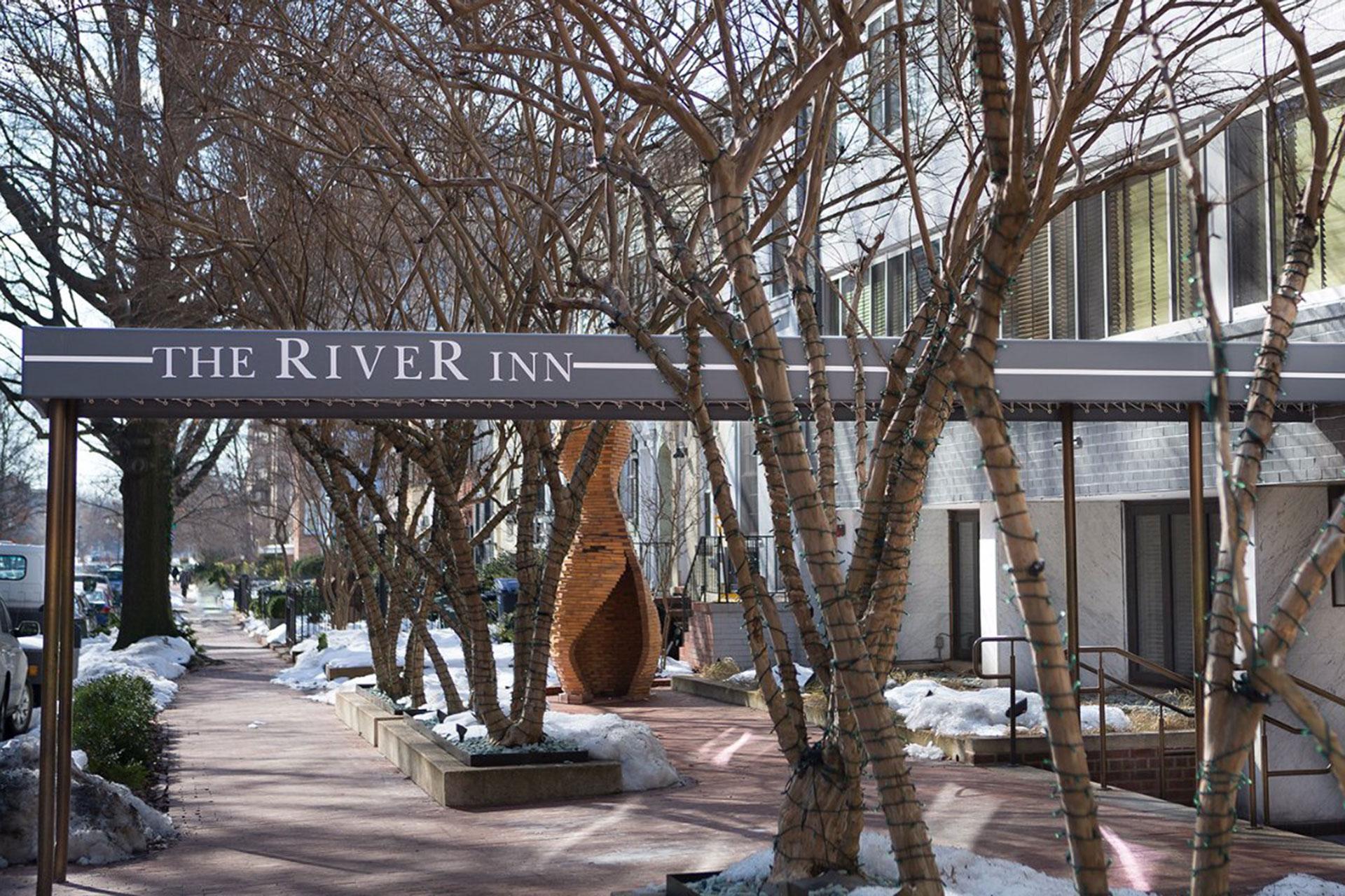 Exterior of The River Inn