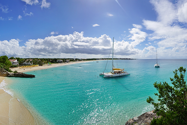 Meads Bay in Anguilla.