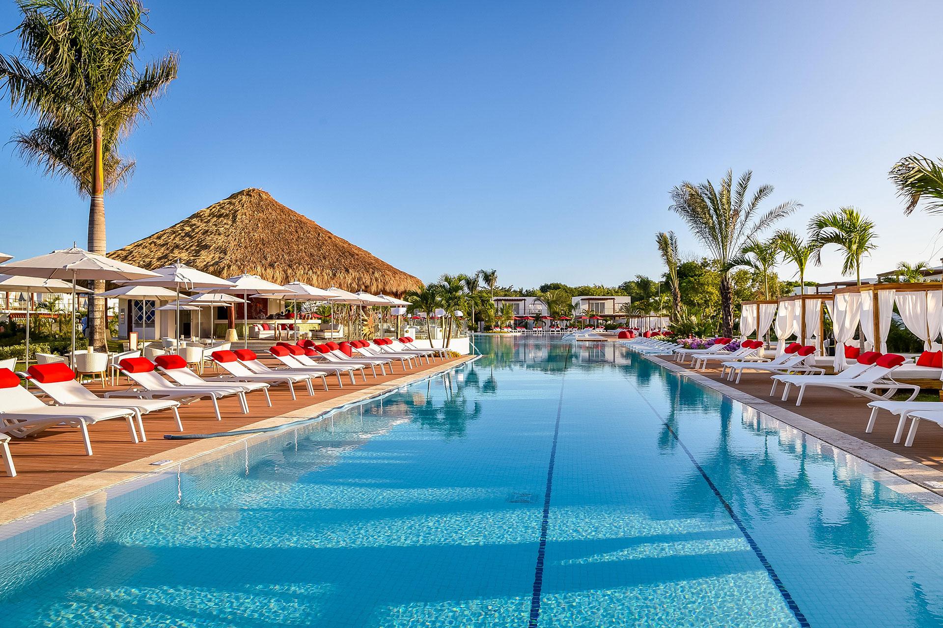 Pool at Club Med Punta Cana; Courtesy of Club Med Punta Cana