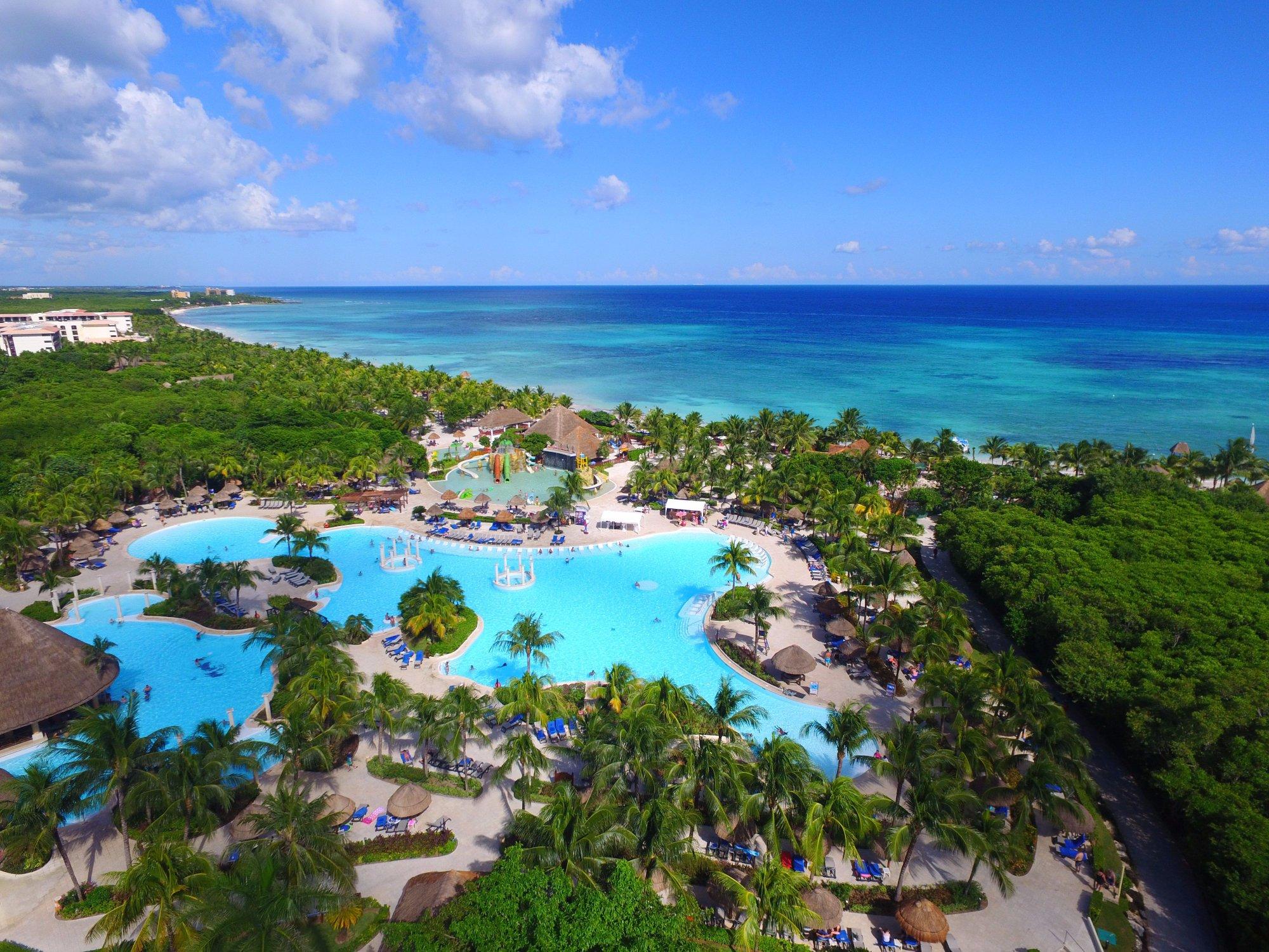 Aerial View of Grand Palladium Kentenah Resort & Spa; Courtesy of Grand Palladium Kentenah Resort & Spa