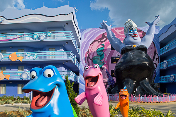 Disney's Art of Animation Resort in Orlando, Florida.