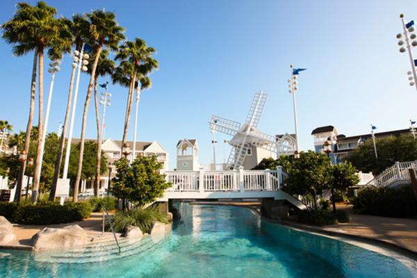 The pool at Disney's Beach Club Resort.
