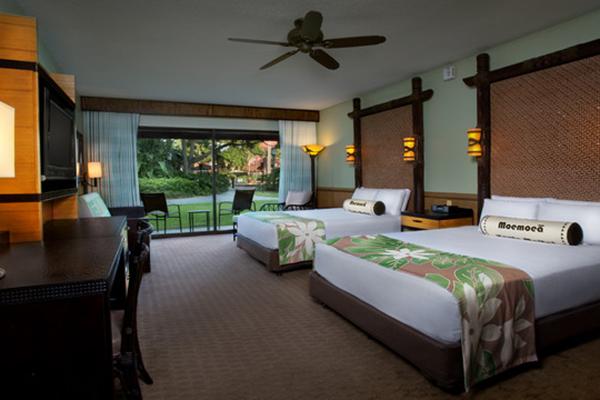 A pool at Disney's Polynesian Resort.