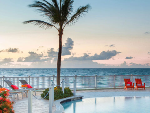 Pelican Grand Beach Resort in Fort Lauderdale; Courtesy of Pelican Grand Beach Resort