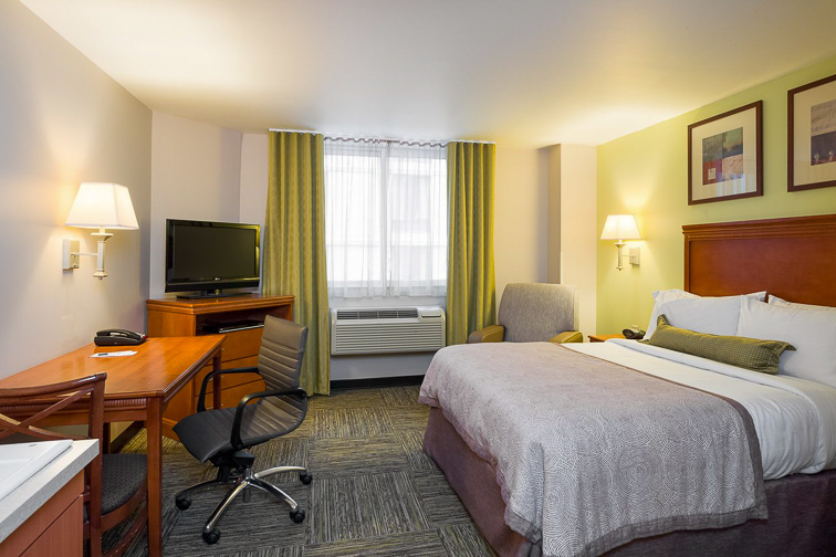 Candlewood Suites New York City - Times Square; Courtesy of Candlewood Suites New York City - Times Square