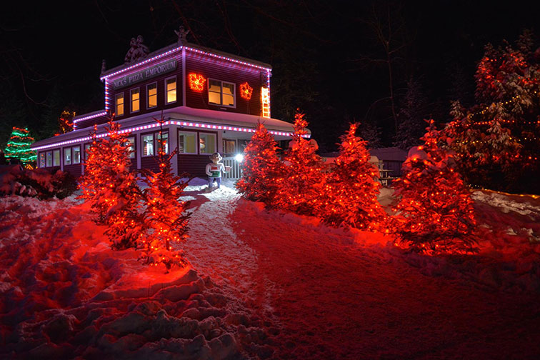 Santa's Village in Jefferson, NH
