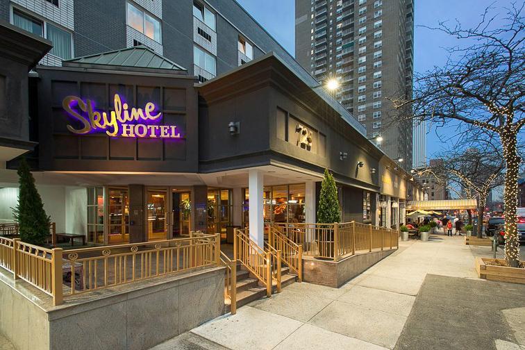 Skyline Hotel; Courtesy of Skyline Hotel