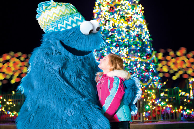 A Very Furry Christmas at Sesame Place; Courtesy of Sesame Place