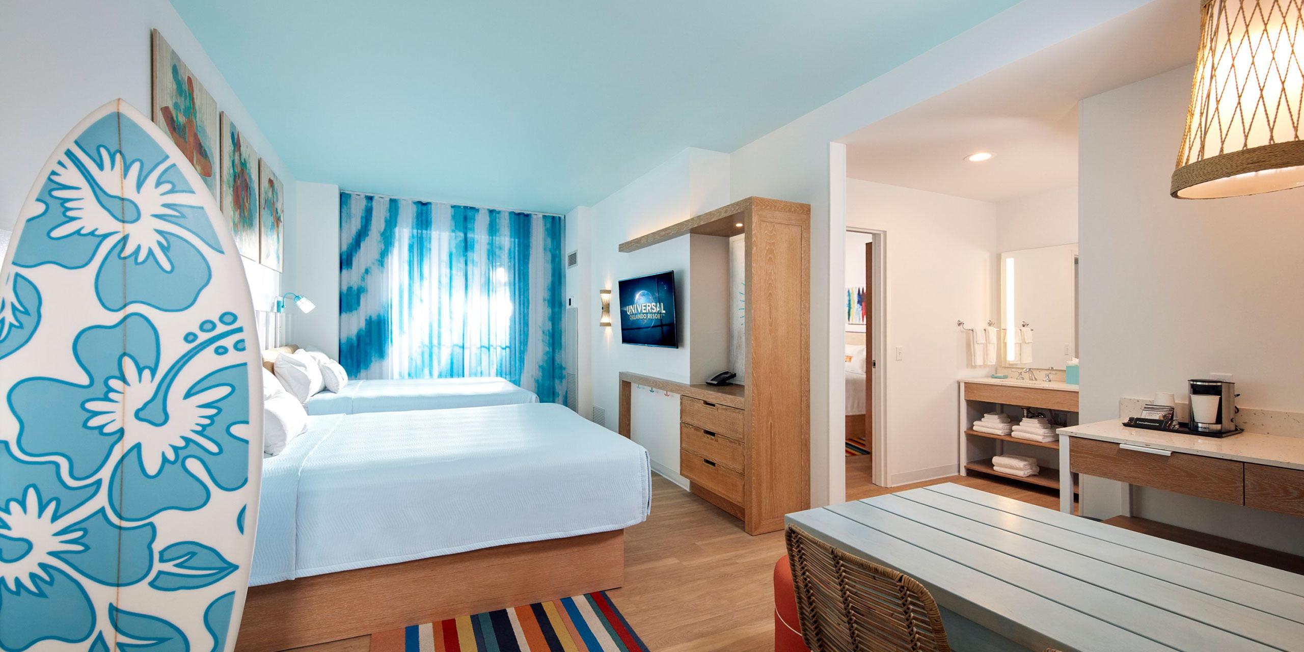 Surfside Inn and Suites; Courtesy of Universal Orlando Resort