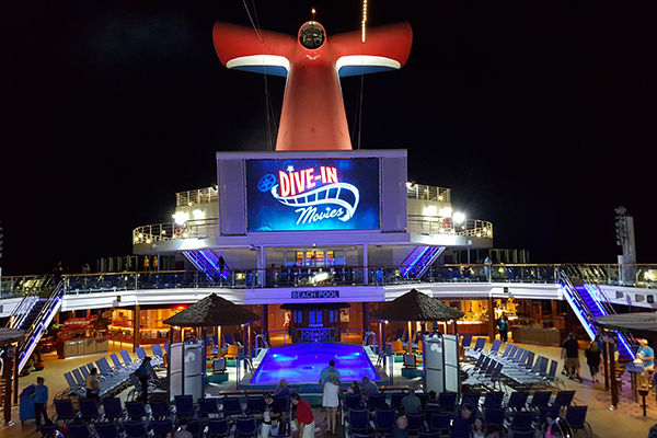 Carnival Sunshine Dive In Movies.