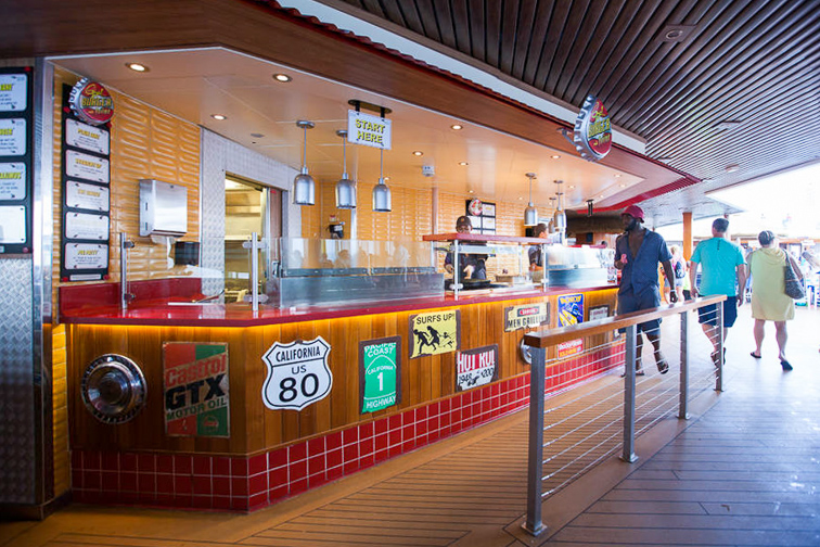 Guys Burger Joint on Carnival Sunshine