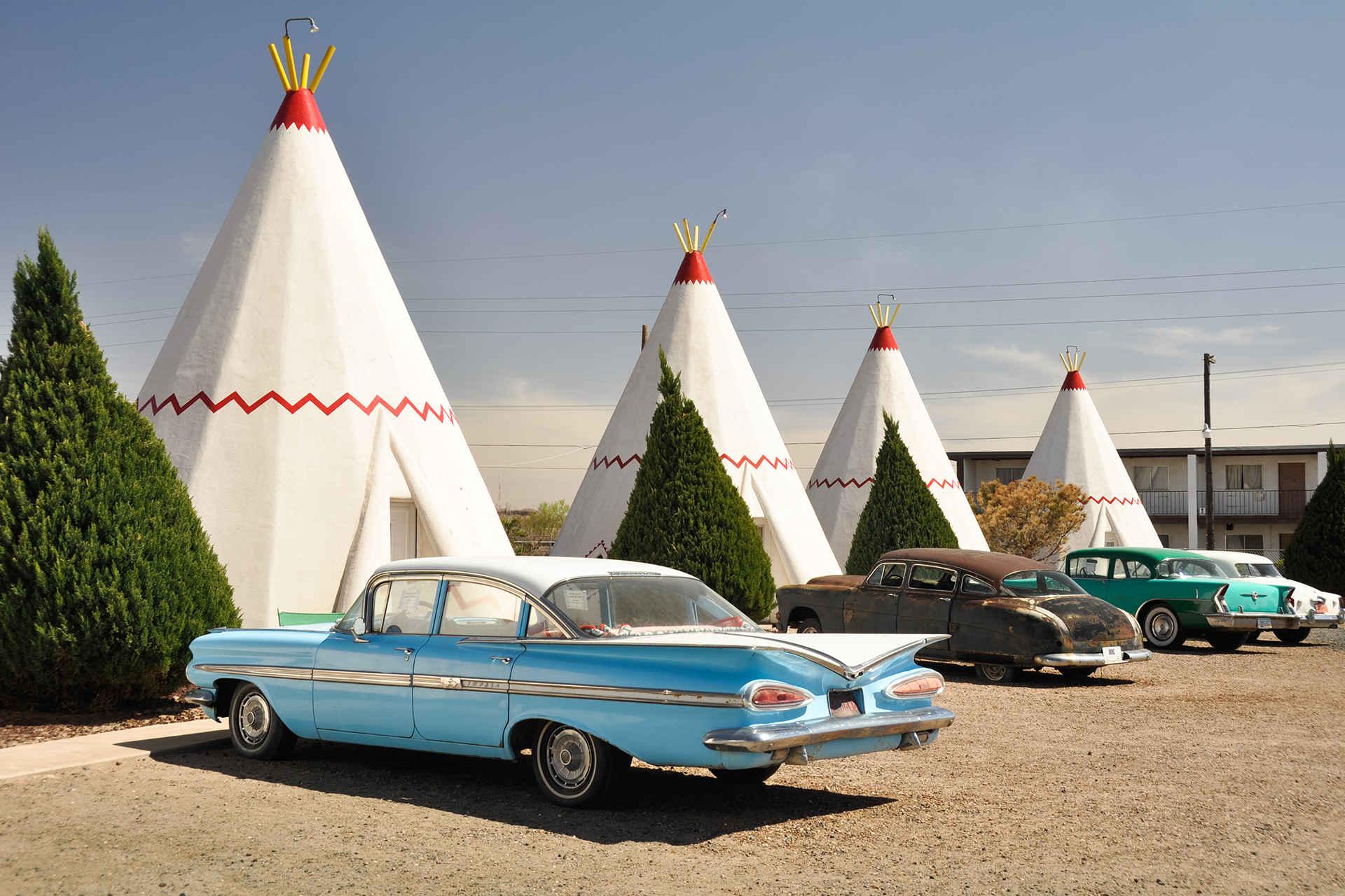 Wigwam Motel; Courtesy of Alberto Loyo/Shutterstock.com