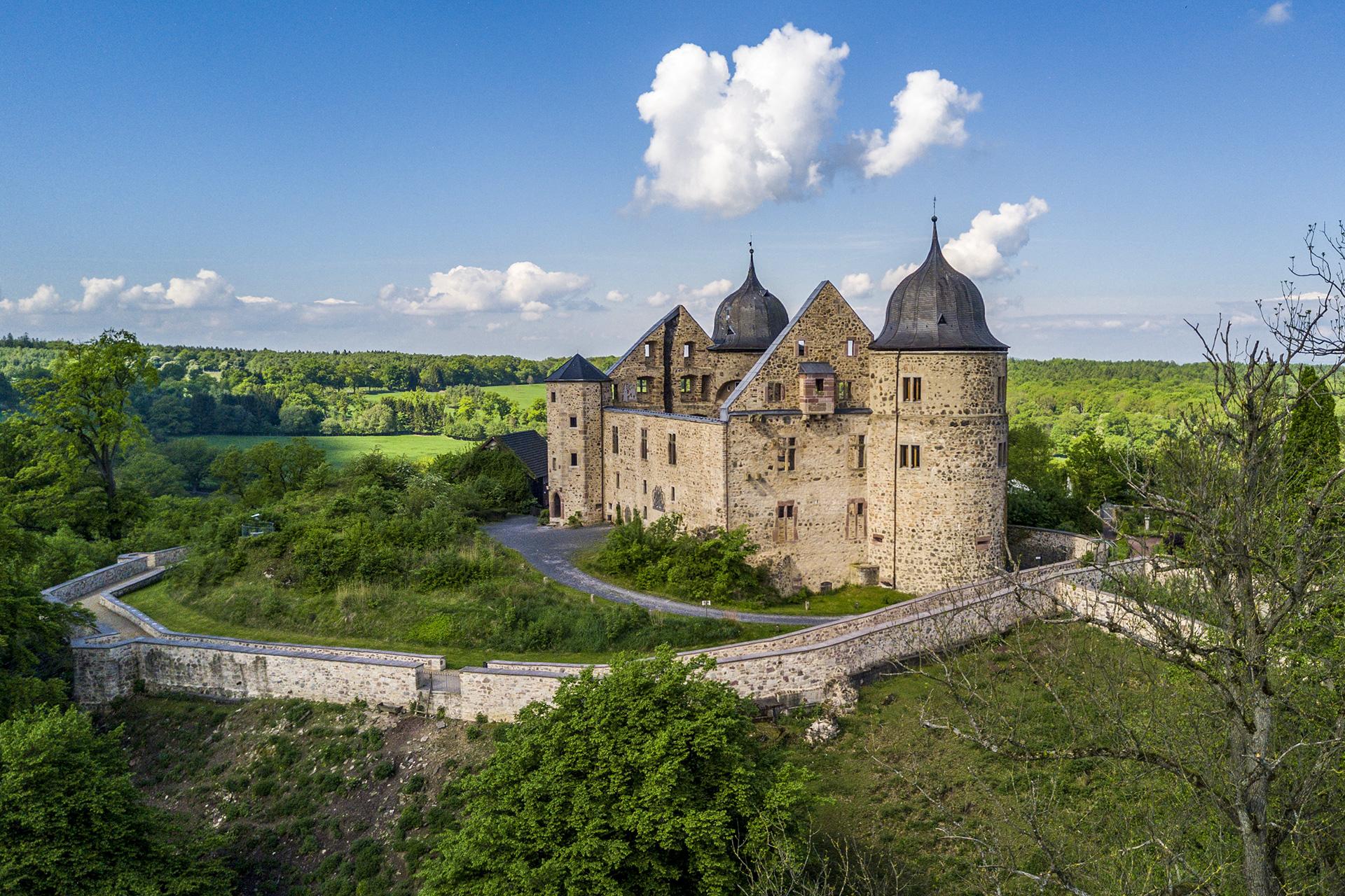 Castle Sababurg in Germany; Courtesy of IURII BURIAK/Shutterstock