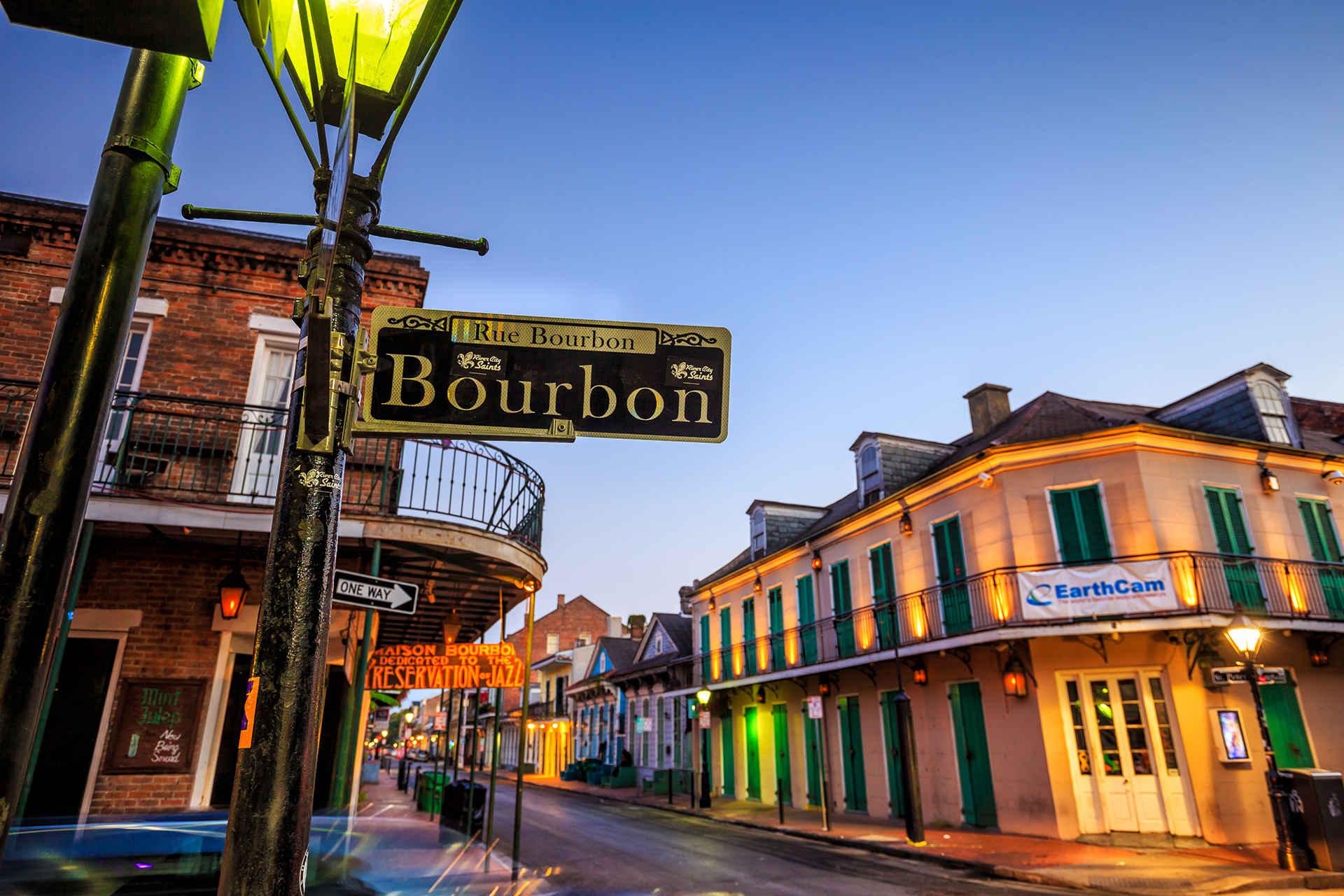 Bourbon Street; Courtesy of f11photo/Shutterstock.com