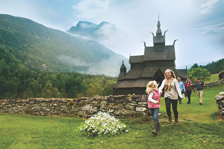 Adventures by Disney Norway Itinerary