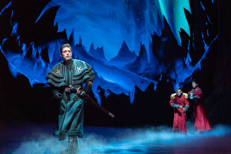 Frozen on Broadway in NYC
