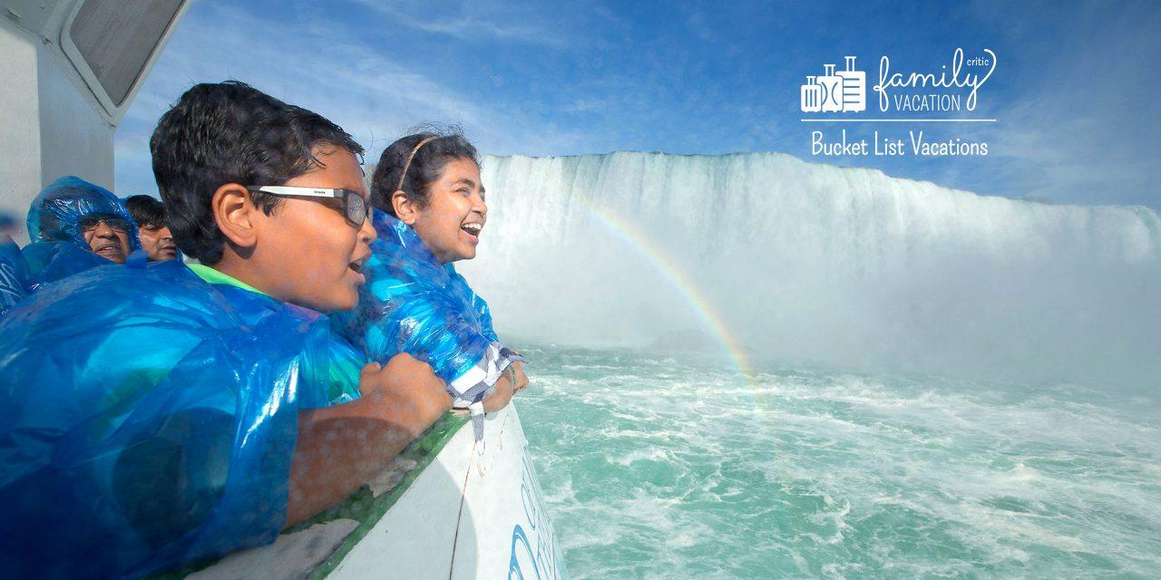 Niagara Falls; Courtesy of Niagara Falls USA