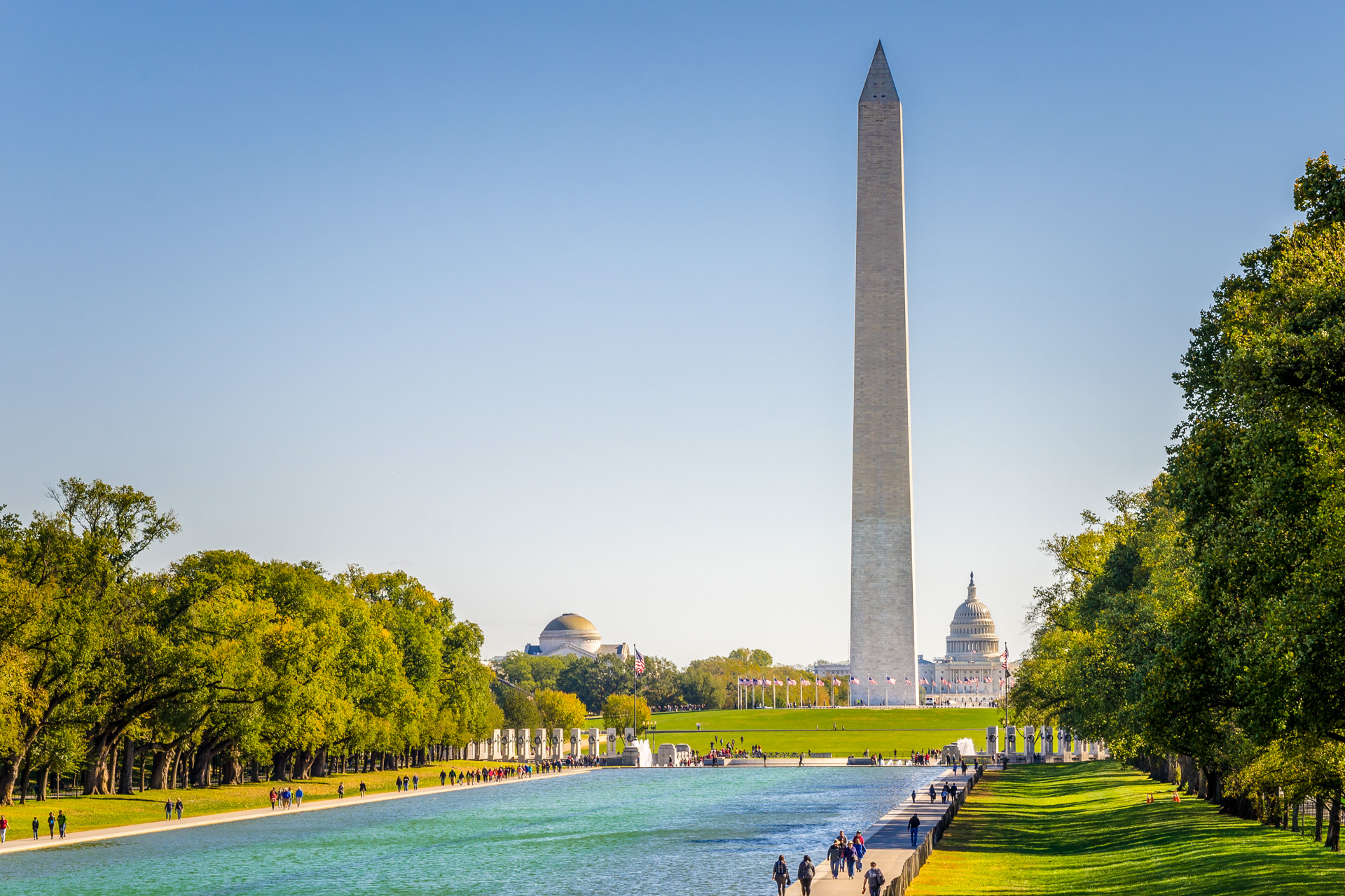 The National Mall; Courtesy of Albert Pego/Shutterstock