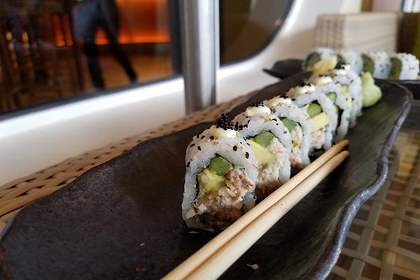 Bonsai Sushi onboard Carnival Vista.