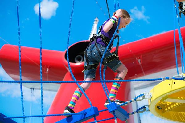 SkyCourse onboard Carnival Vista.