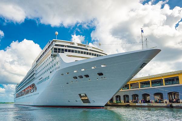 MSC Opera arriving in Cuba