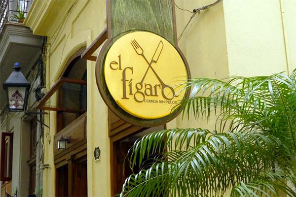 El Figaro in Havana, Cuba