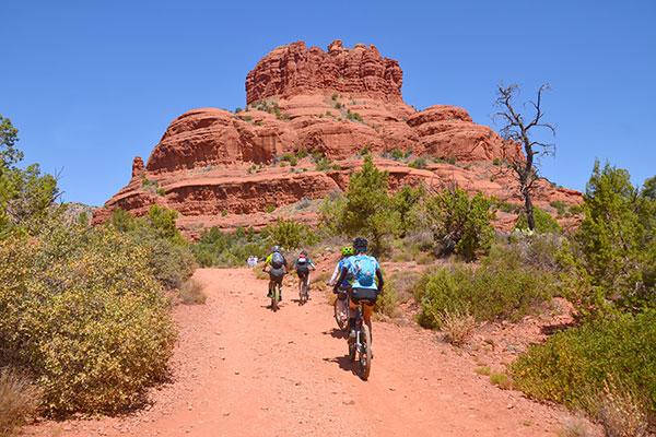 Bike Riders in Sedona, Arizona