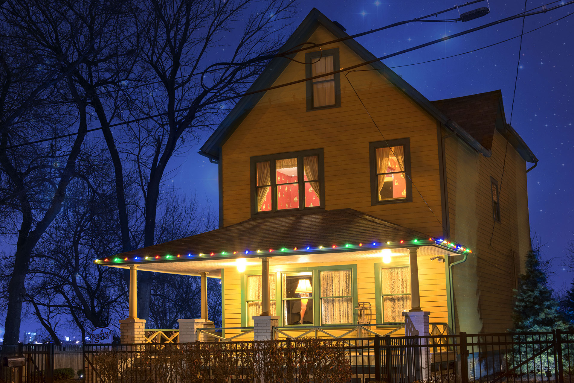 A Christmas Story House and Museum; Courtesy of Juli Scalzi/Shutterstock.com