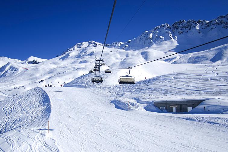 Arosa Lenzerheide, Switzerland; Courtesy of Eva Bocek/Shutterstock
