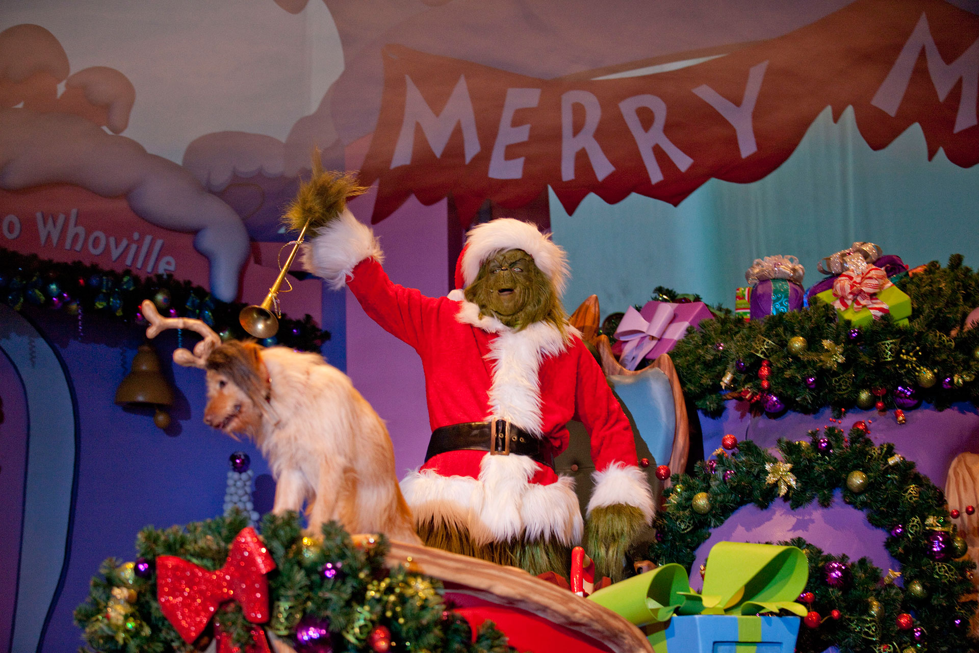 Grinchmas at Universal Orlando Resort; Courtesy of Universal Orlando Resort