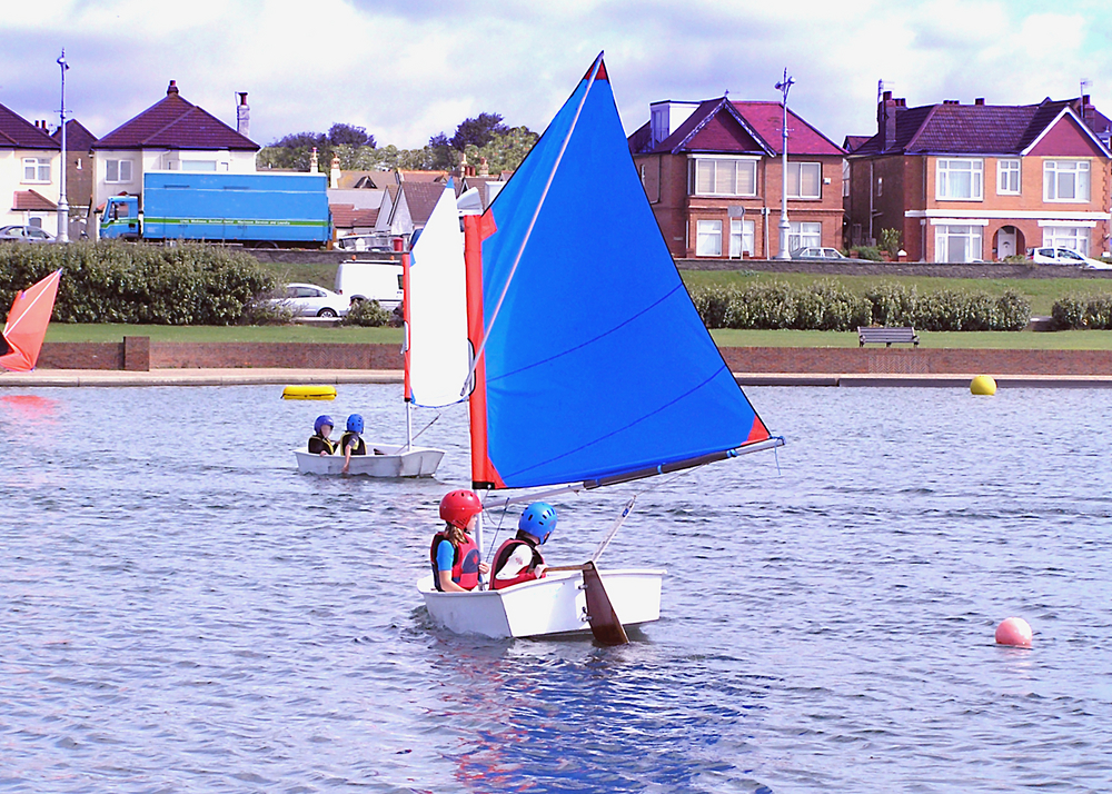 Sailing school for children.