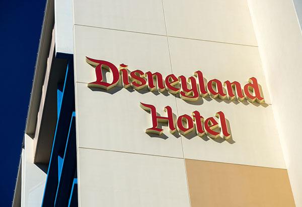 Disneyland Hotel in California.