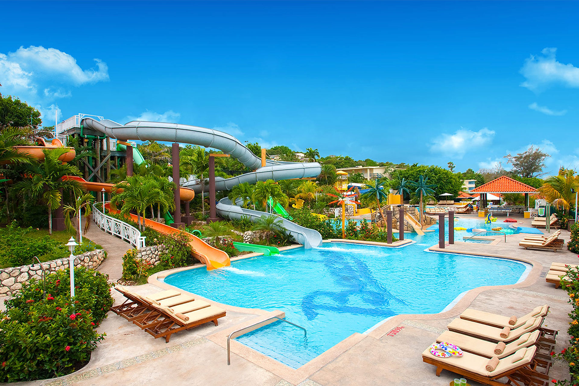 Water Park at Beaches Ocho Rios; Courtesy of Beaches Ocho Rios