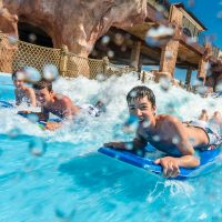 Kids in Water Park at Beaches Turks and Caicos; Courtesy of Beaches Turks and Caicos