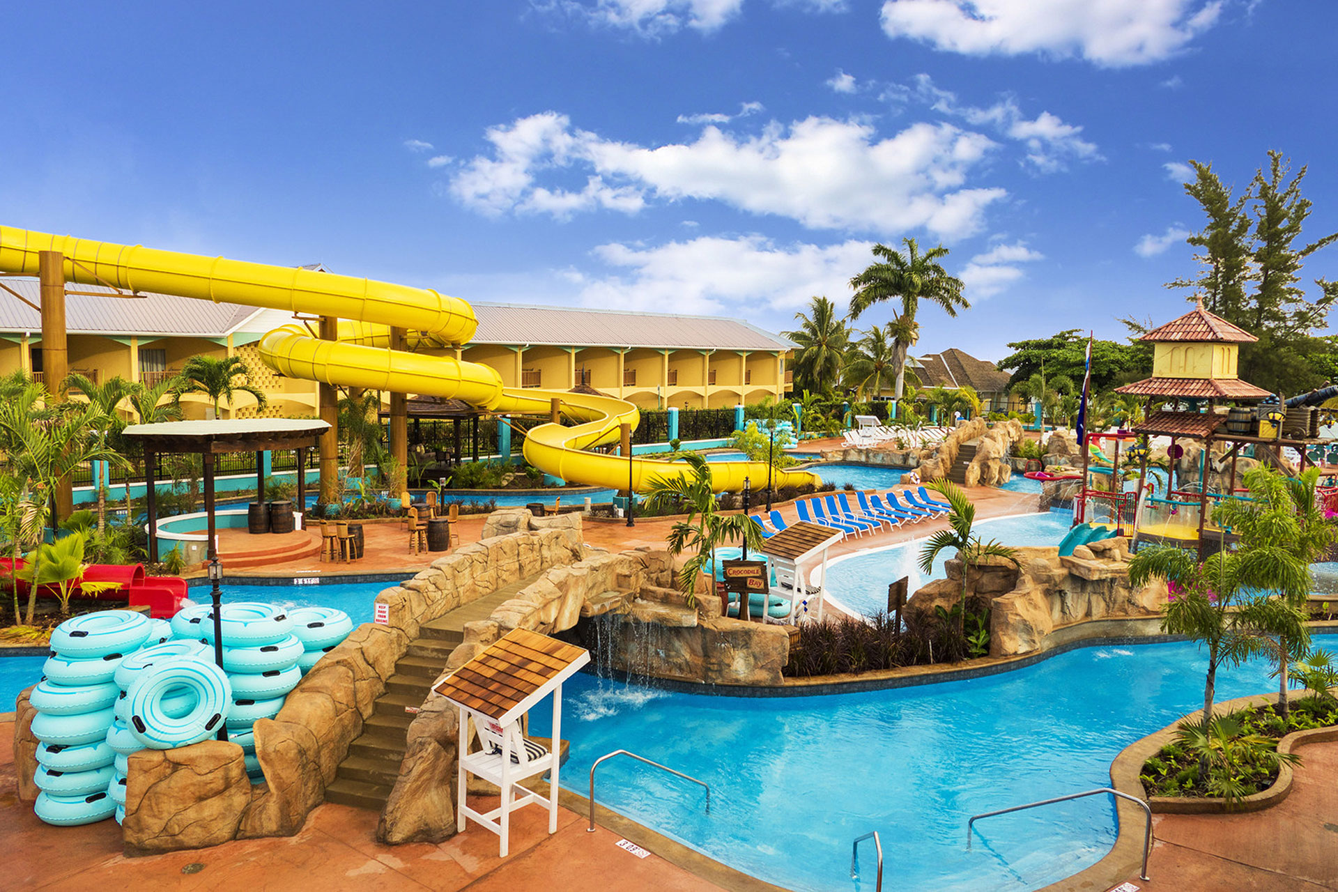 Water Park at Jewel Runaway Bay Beach & Golf Resort; Courtesy of Jewel Runaway Bay Beach & Golf Resort