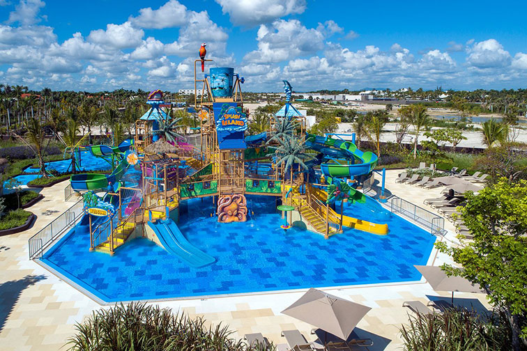 Water Park at Lopesan Costa Bavaro Resort, Spa & Casino - Dominican Republic