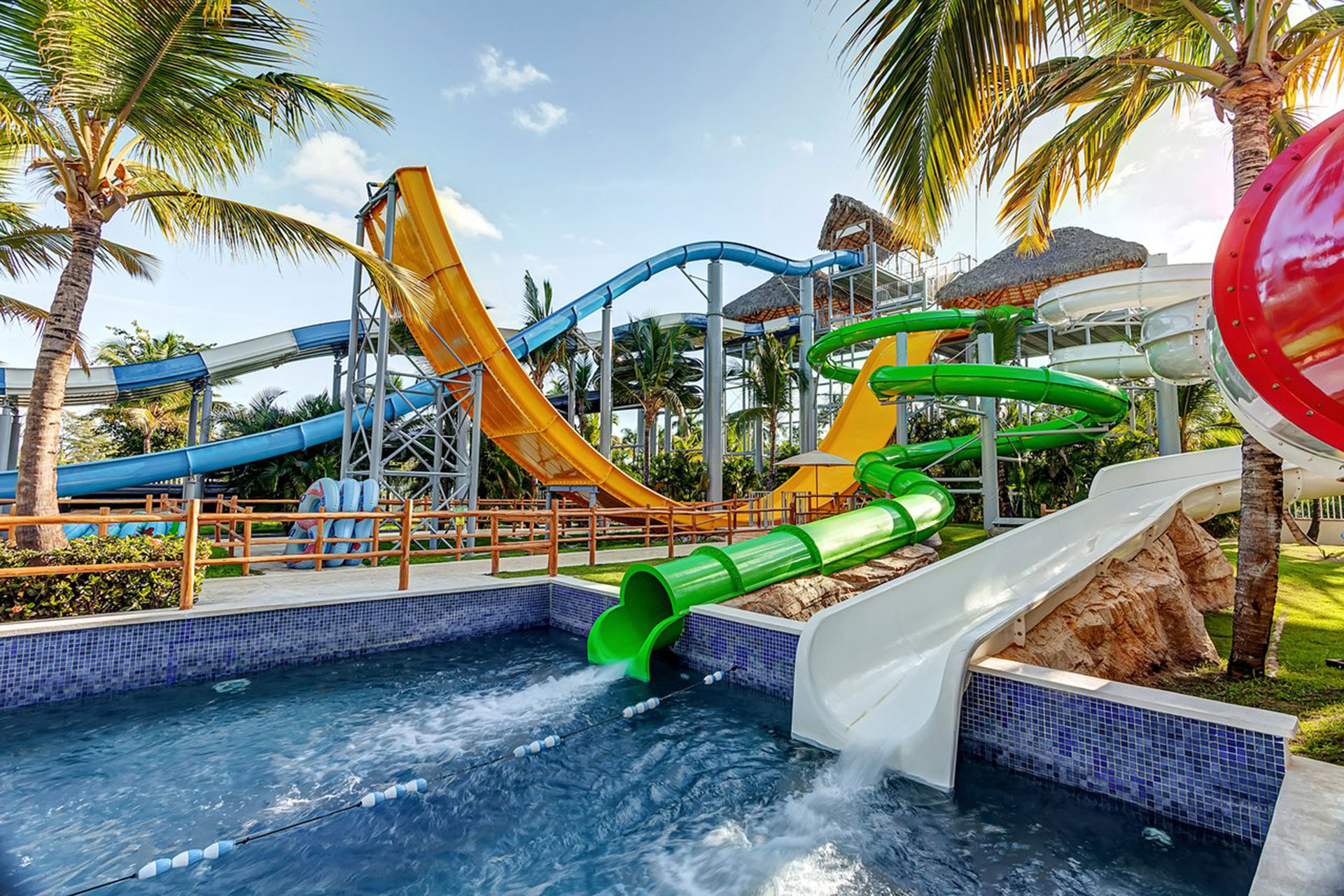 Water Park at Memories Splash Punta Cana; Courtesy of Memories Splash Punta Cana