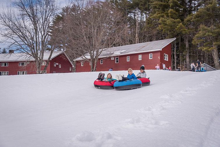 King Pine Ski Area in Mount Washington, NH