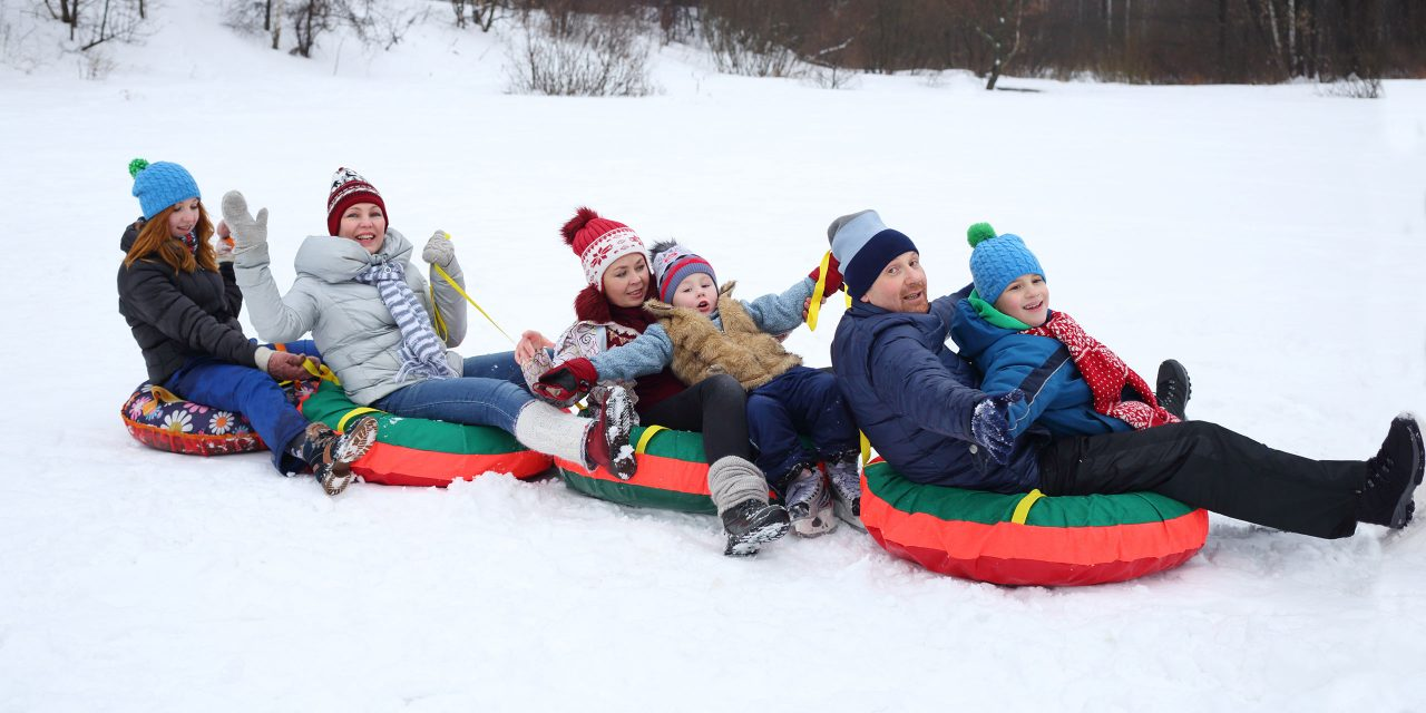 Snow Tubing; Courtesy of Pavel L Photo and Video/Shutterstock.com