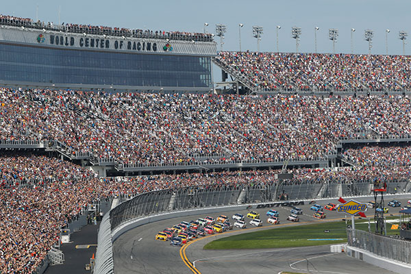 The Daytona 500 in Florida.