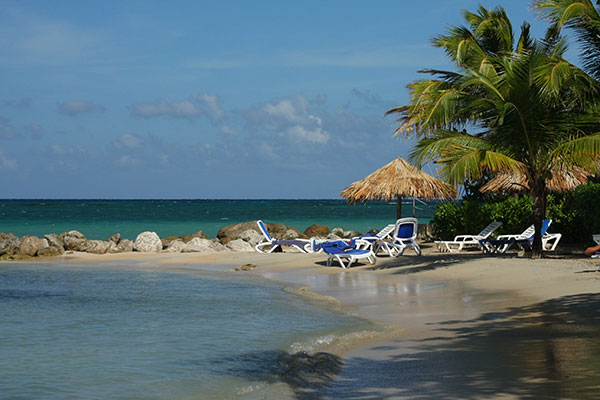 A resort in Runaway Bay, Jamaica.