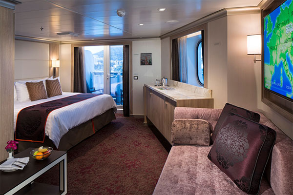 A suite onboard ms Kongingsdam.