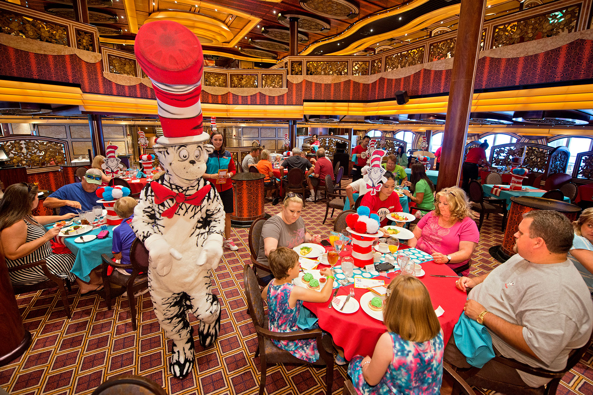 Seuss at Sea on Carnival Cruise Line; Courtesy of Carnival Cruise Line