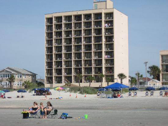 North Myrtle Beach Hotels >> Best Western Ocean Sands Beach Resort North Myrtle Beach