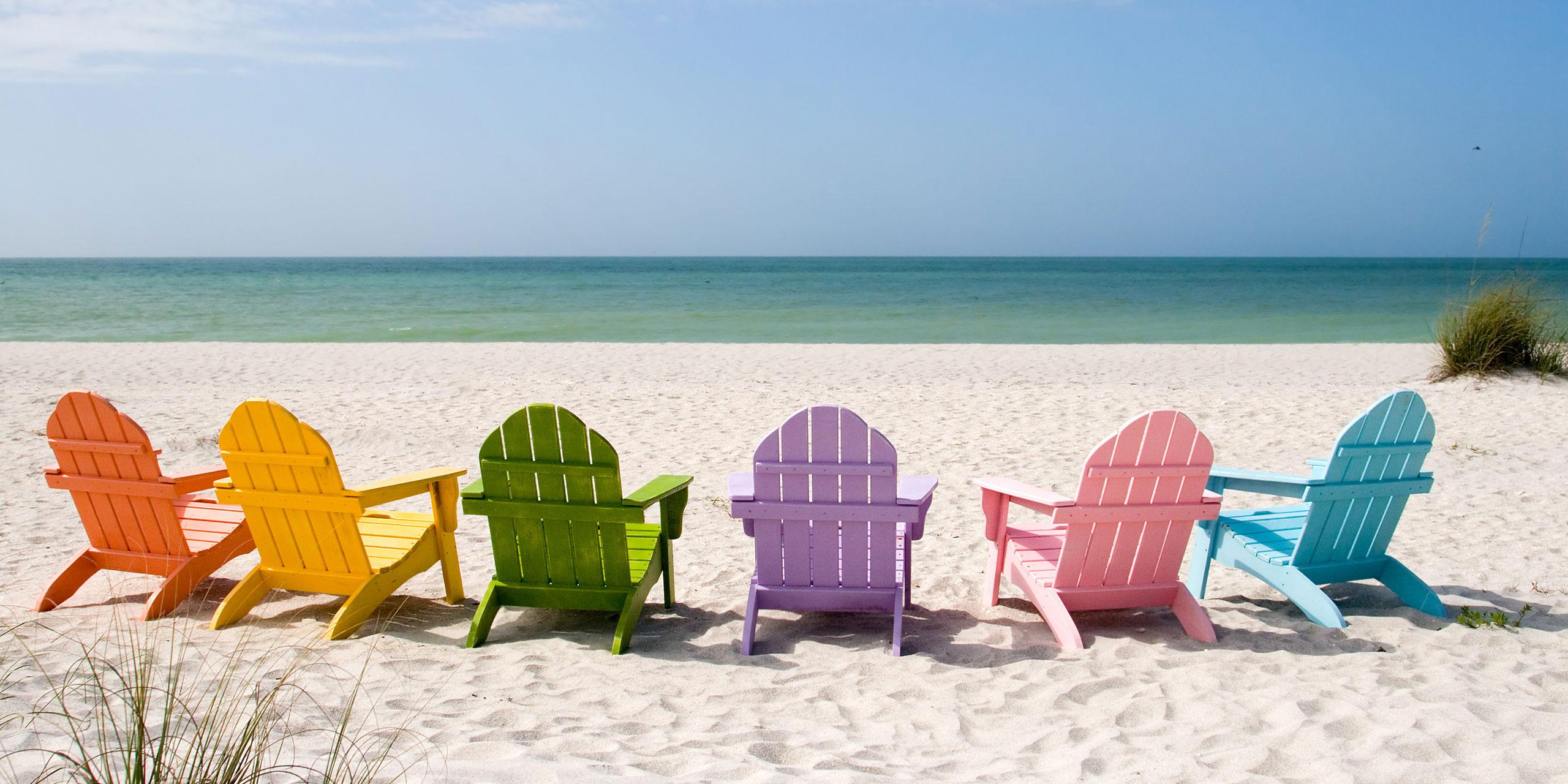 Captiva Beach, Florida; Courtesy of Chad McDermott/Shutterstock.com