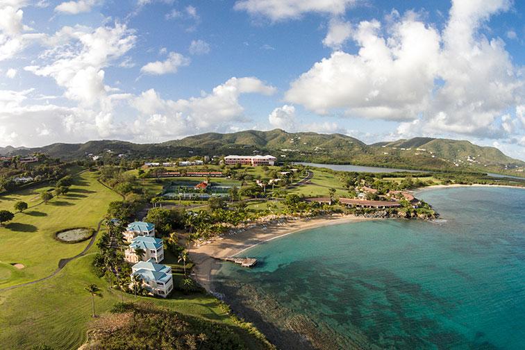The Buccaneer Resort on St. Croix in the U.S. Virgin Islands