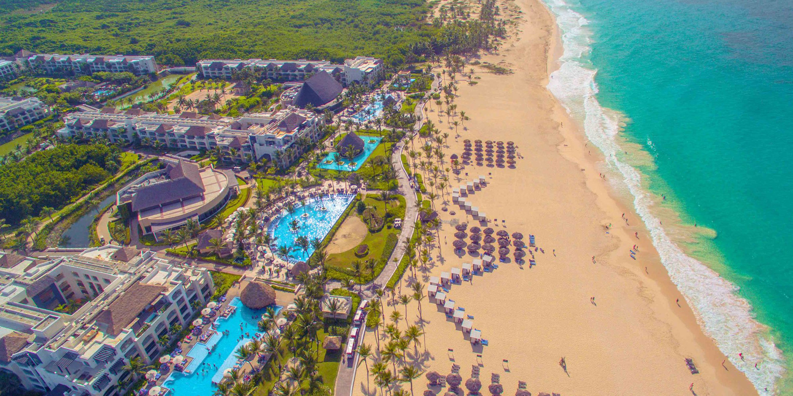Aerial View of Hard Rock Hotel & Casino Punta Cana; Courtesy of Hard Rock Hotel & Casino Punta Cana