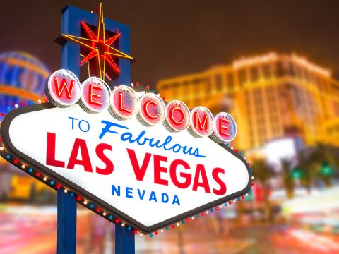 Welcome to Las Vegas Sign; Courtesy of Business Stock/Shutterstock.com