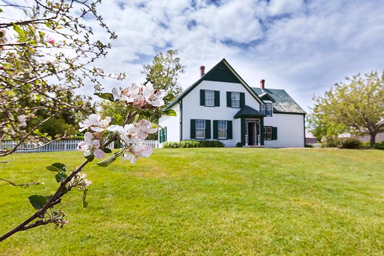 Prince Edward Island, Canada Anne of Green Gables House; Courtesy COSPV/Shutterstock